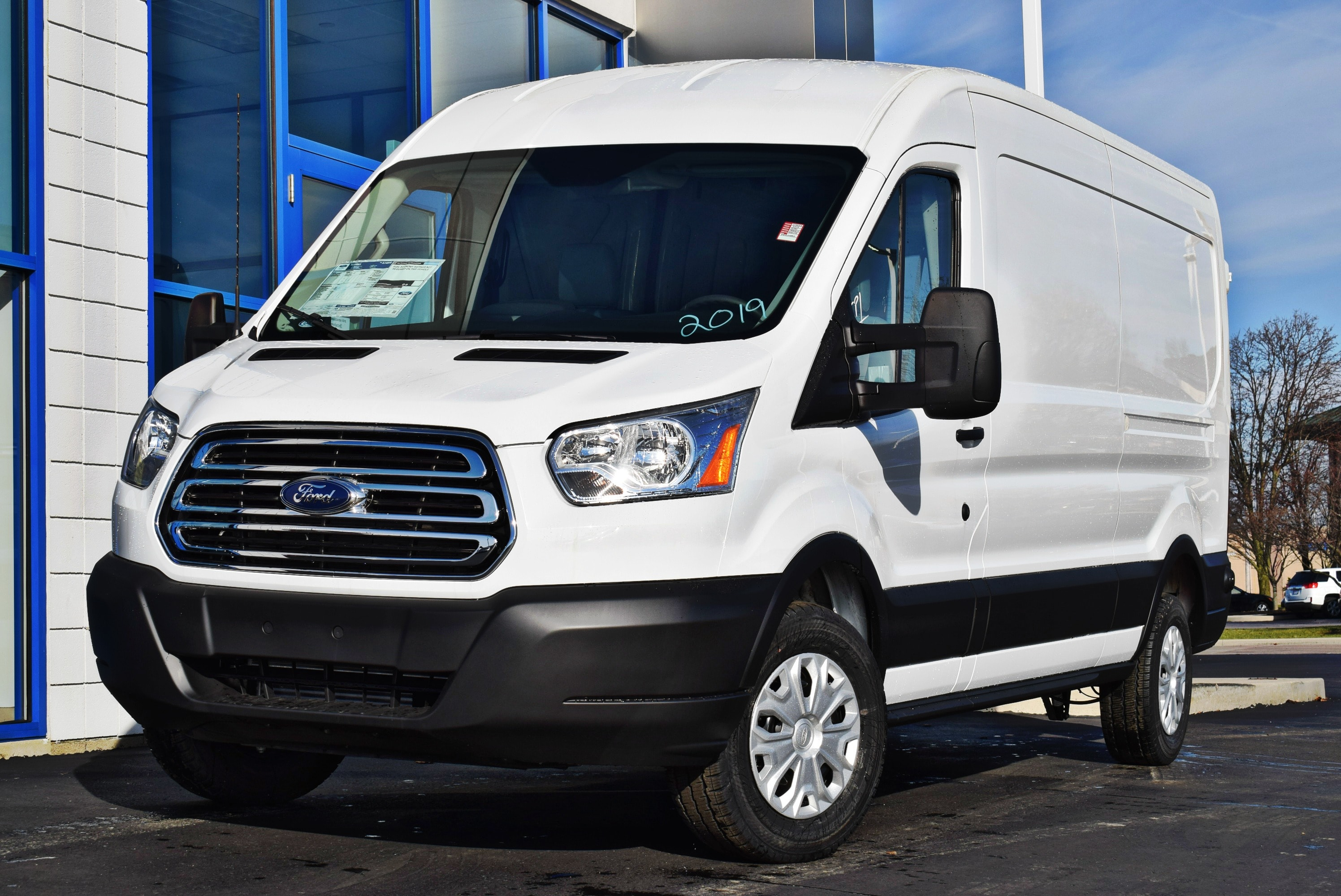 2019 Transit 150 Med Roof 4x2,  Empty Cargo Van #T19173 - photo 4