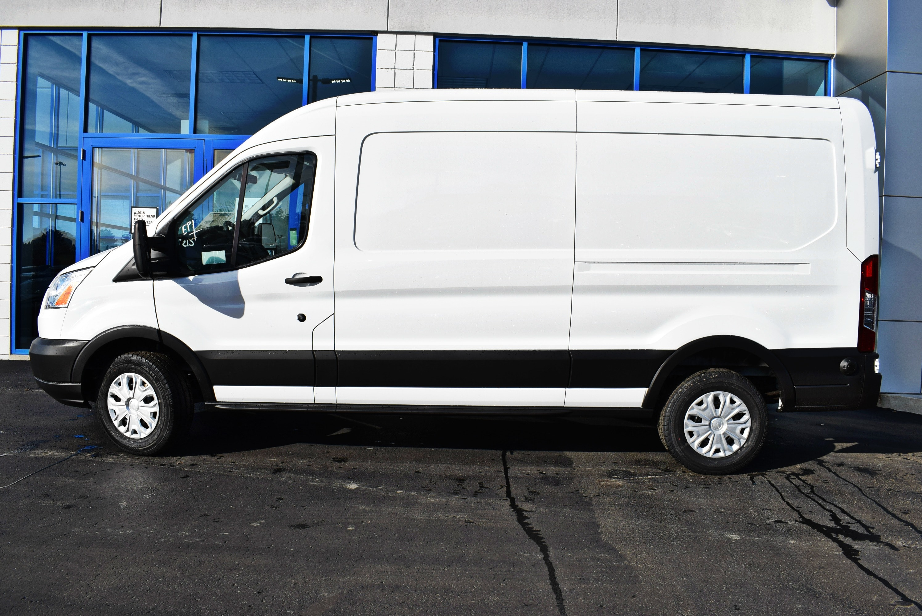 2019 Transit 150 Med Roof 4x2,  Empty Cargo Van #T19173 - photo 8