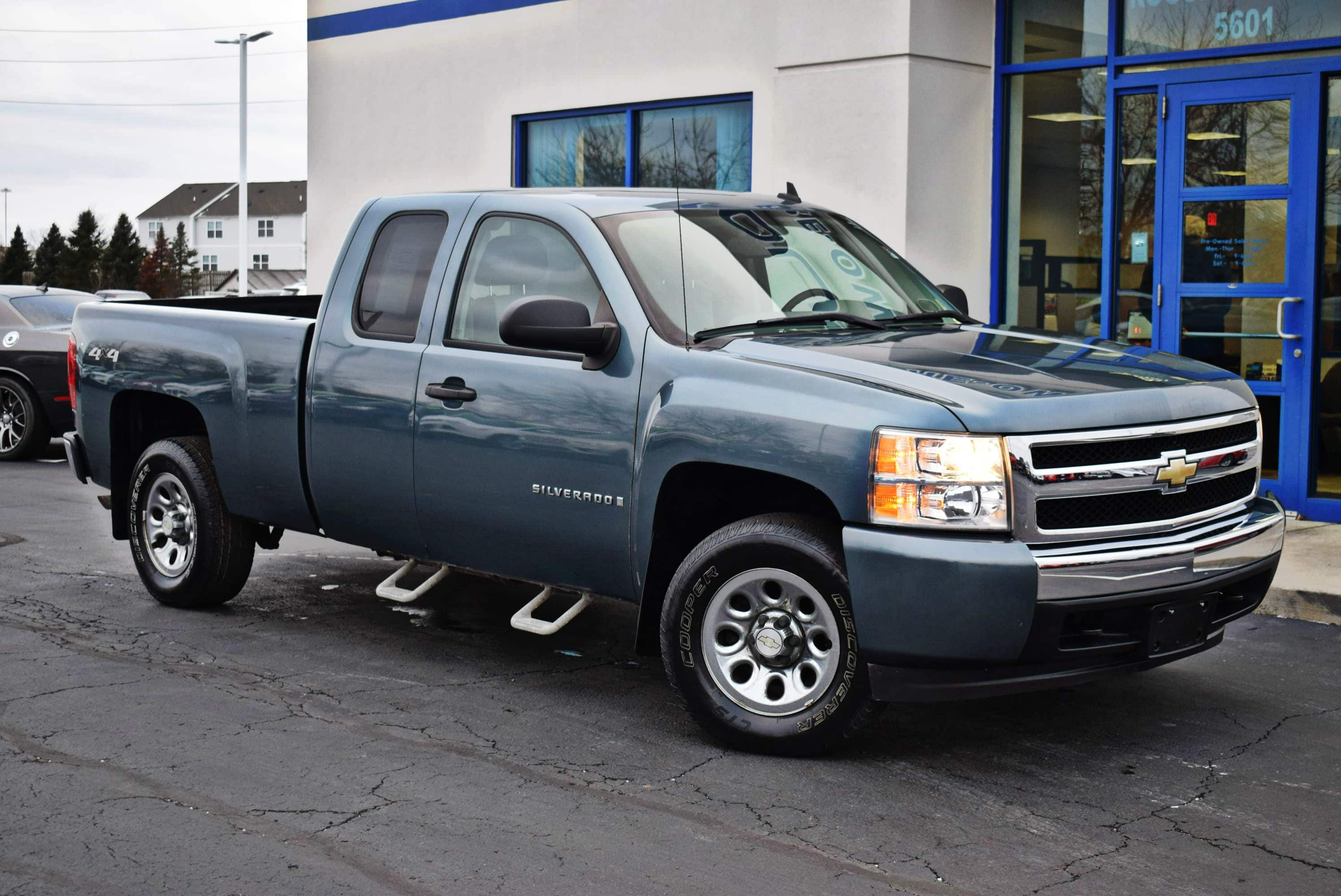 2008 Silverado 1500 Extended Cab 4x4,  Pickup #T19258A - photo 4