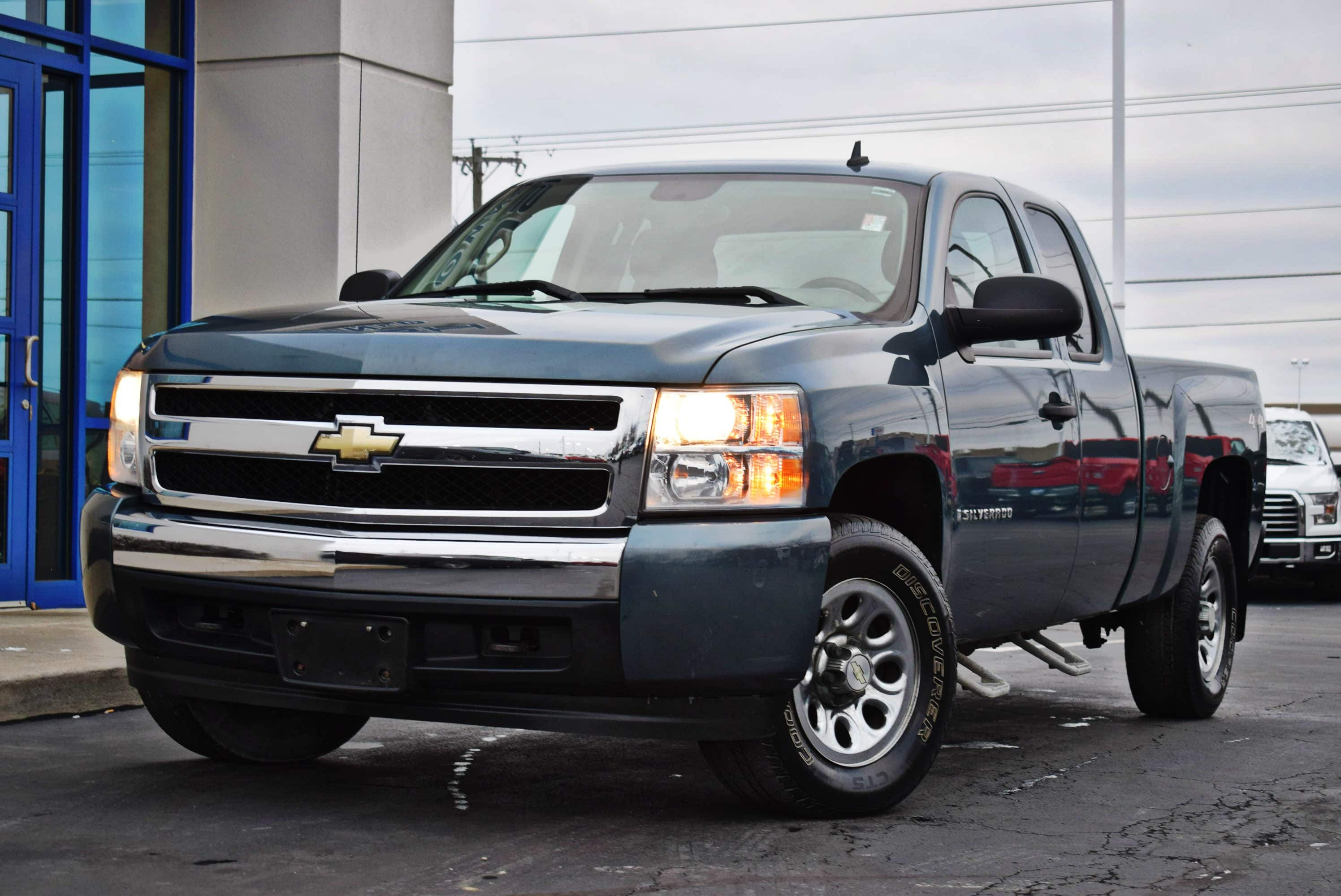 2008 Silverado 1500 Extended Cab 4x4,  Pickup #T19258A - photo 5