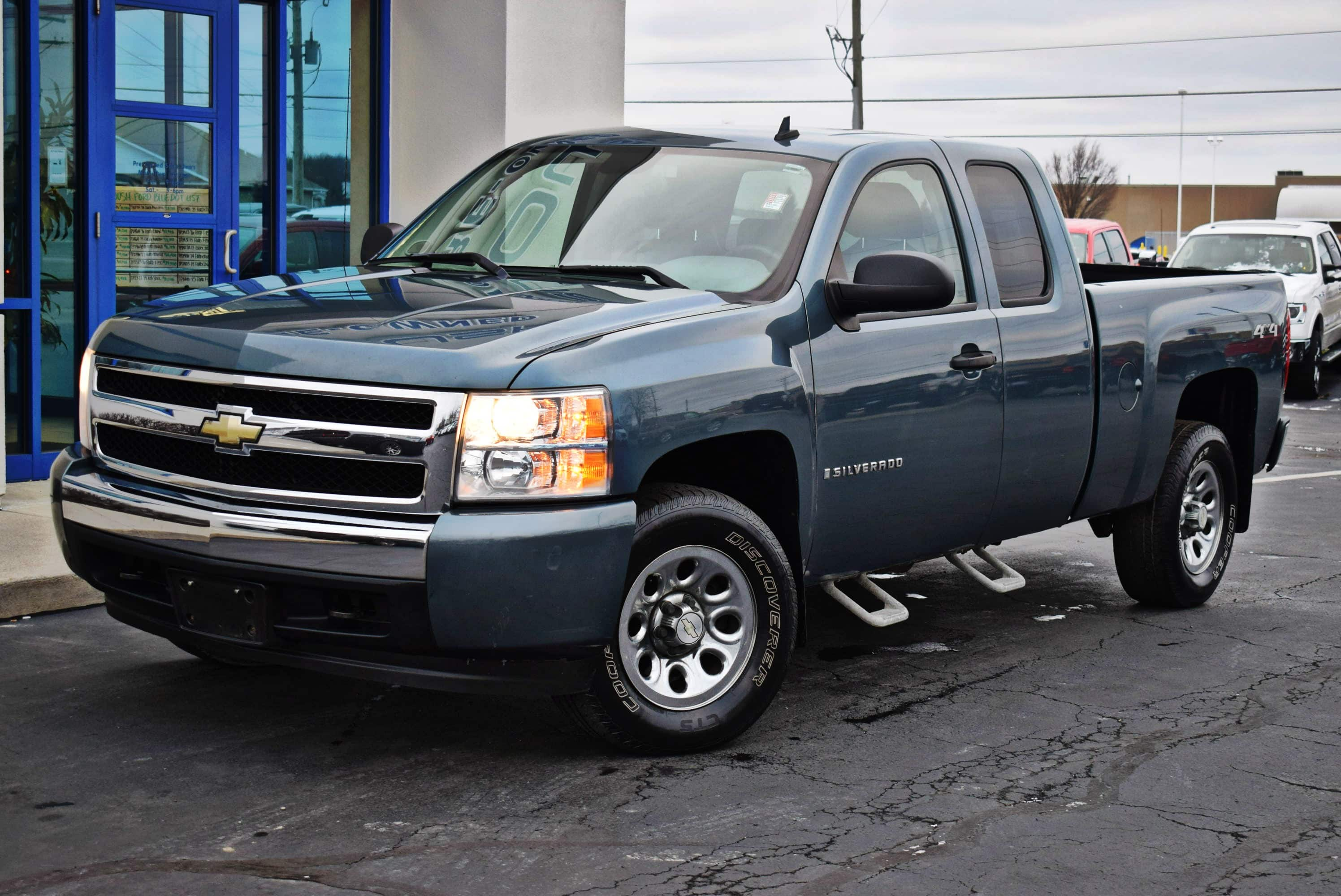 2008 Silverado 1500 Extended Cab 4x4,  Pickup #T19258A - photo 6