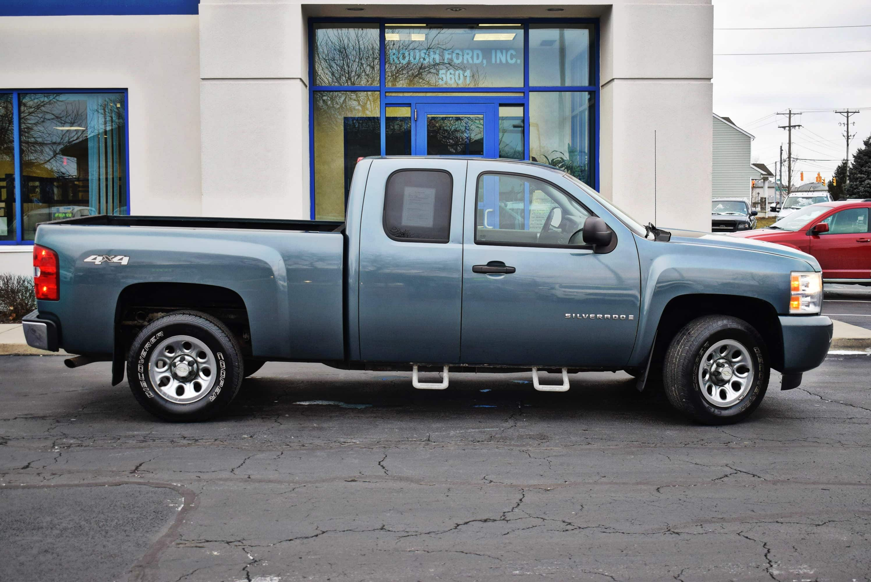 2008 Silverado 1500 Extended Cab 4x4,  Pickup #T19258A - photo 8