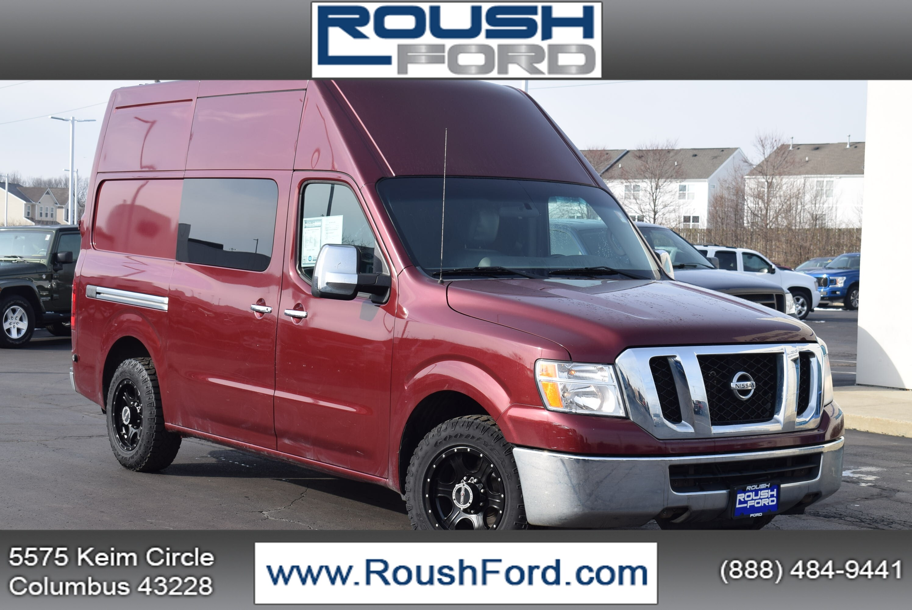 2012 Nissan NV HD High Roof 4x2, Upfitted Cargo Van #T20285A - photo 1
