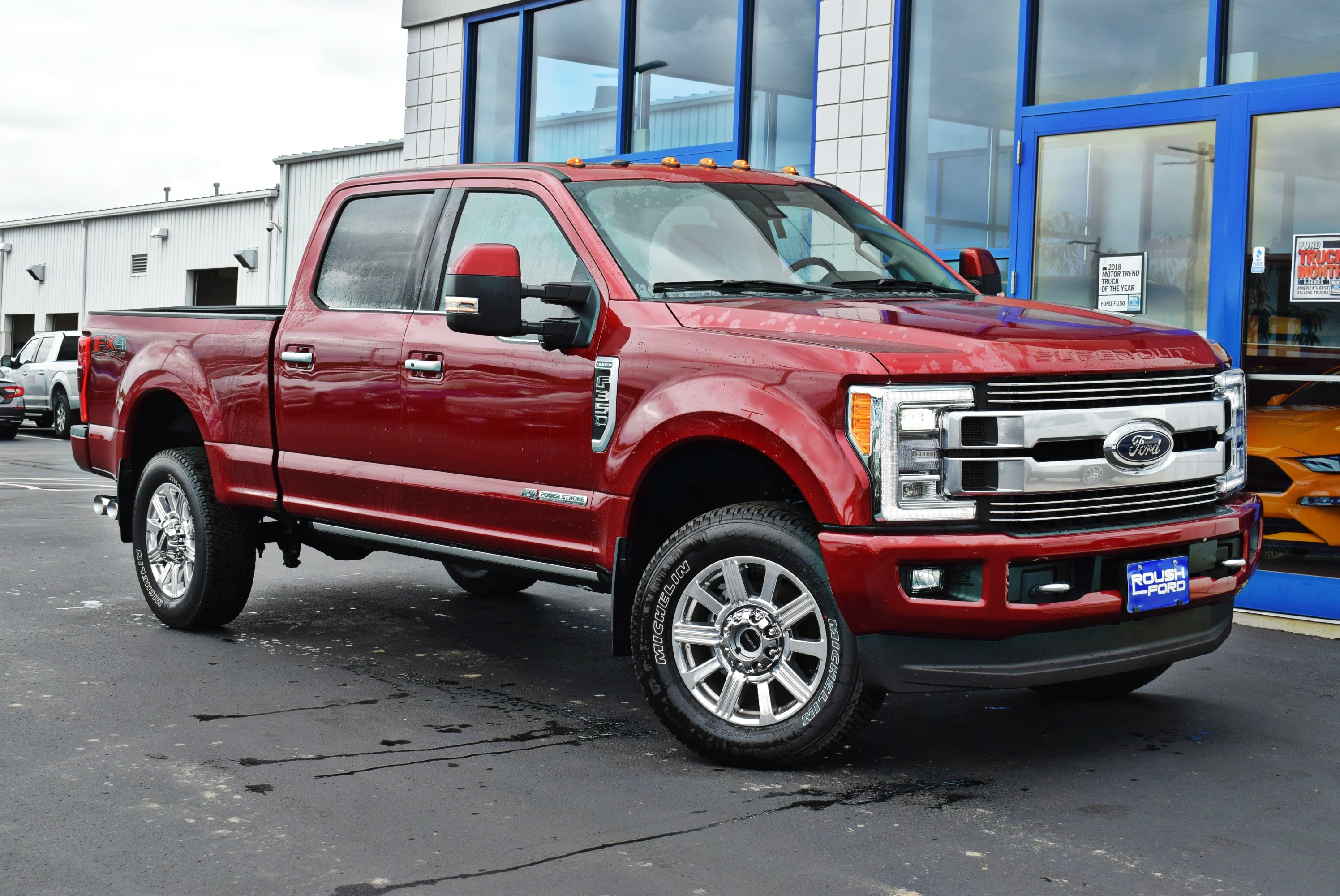 2018 F-350 Crew Cab 4x4,  Pickup #TD18763 - photo 3