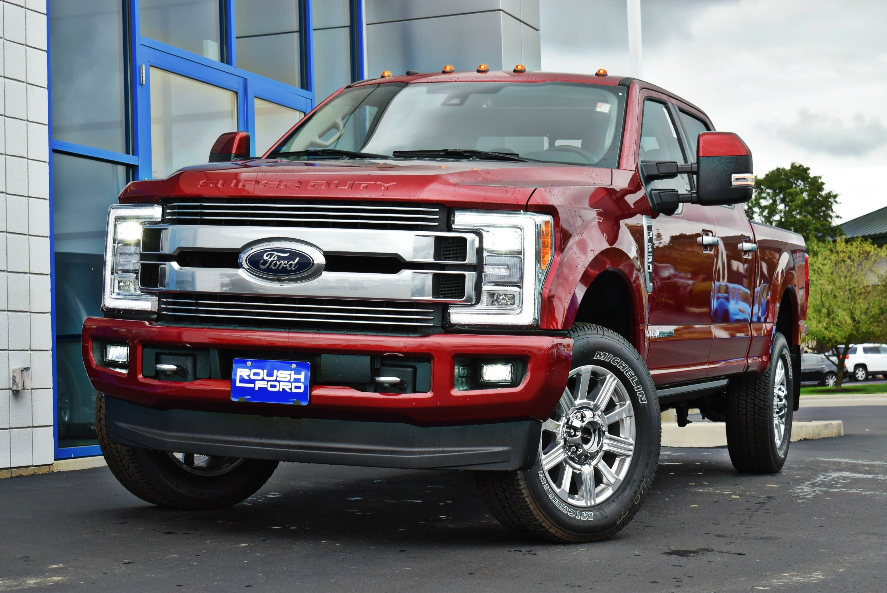 2018 F-350 Crew Cab 4x4,  Pickup #TD18763 - photo 4