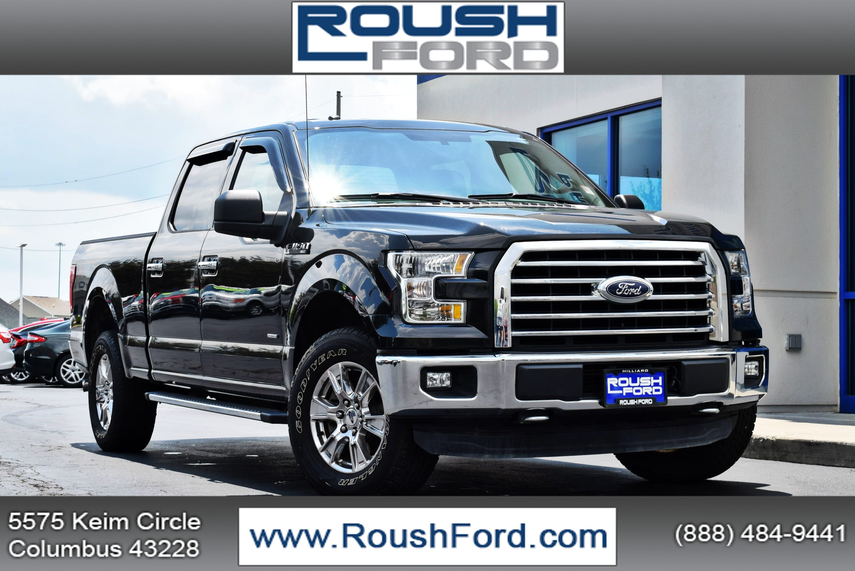 2015 F-150 SuperCrew Cab 4x4,  Pickup #TP2201 - photo 1
