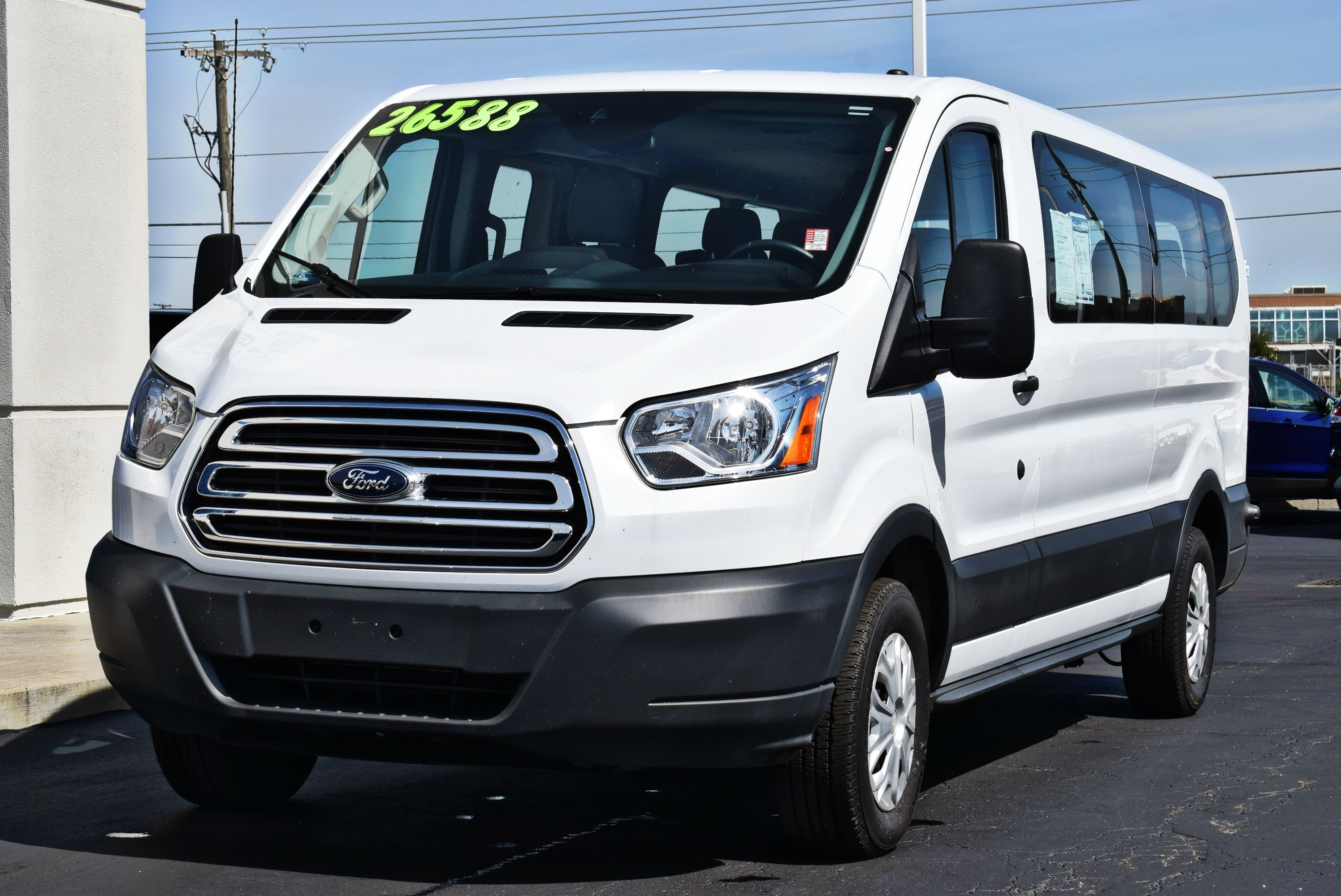 2017 Transit 350 Low Roof 4x2,  Passenger Wagon #TP2320 - photo 5