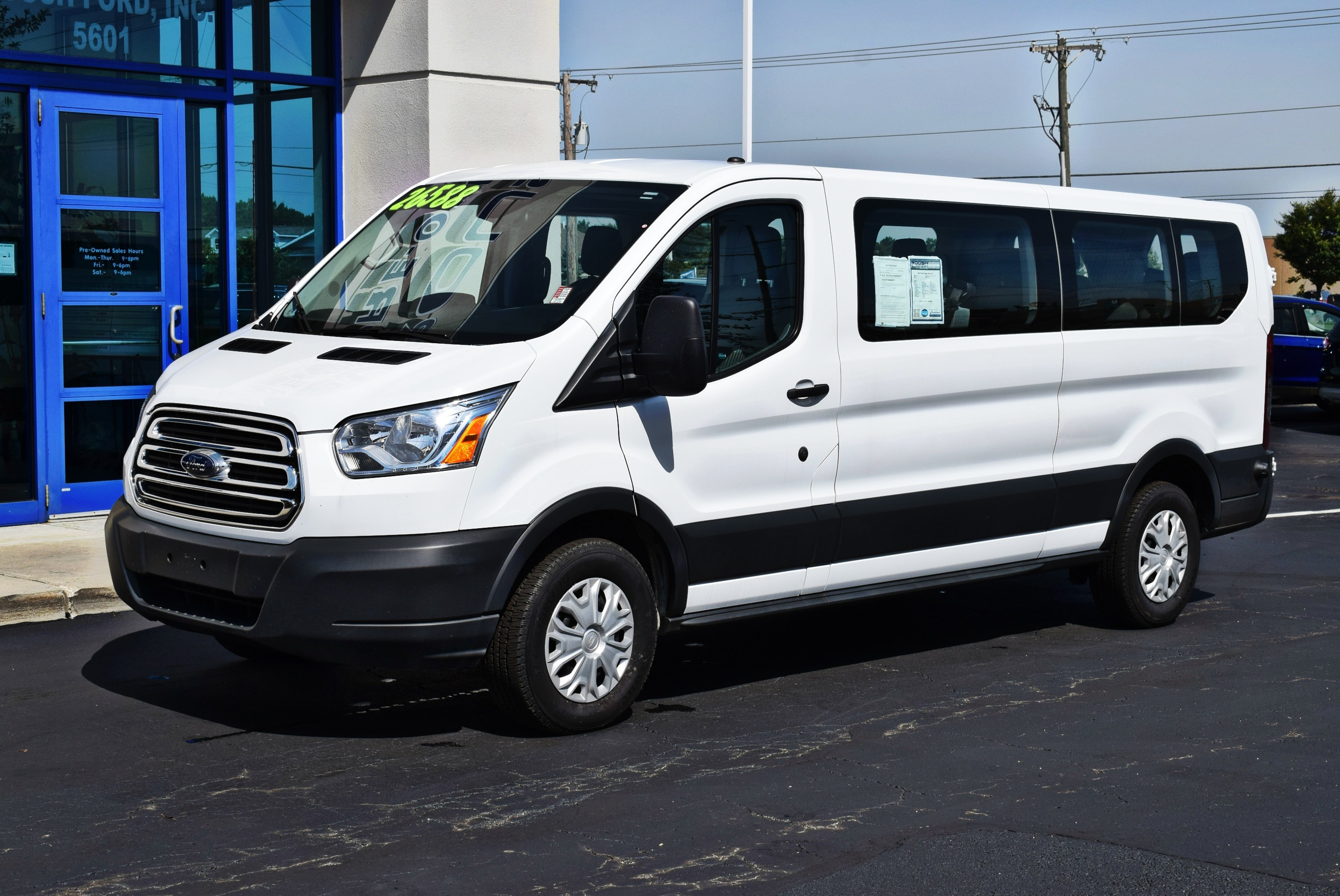 2017 Transit 350 Low Roof 4x2,  Passenger Wagon #TP2320 - photo 6
