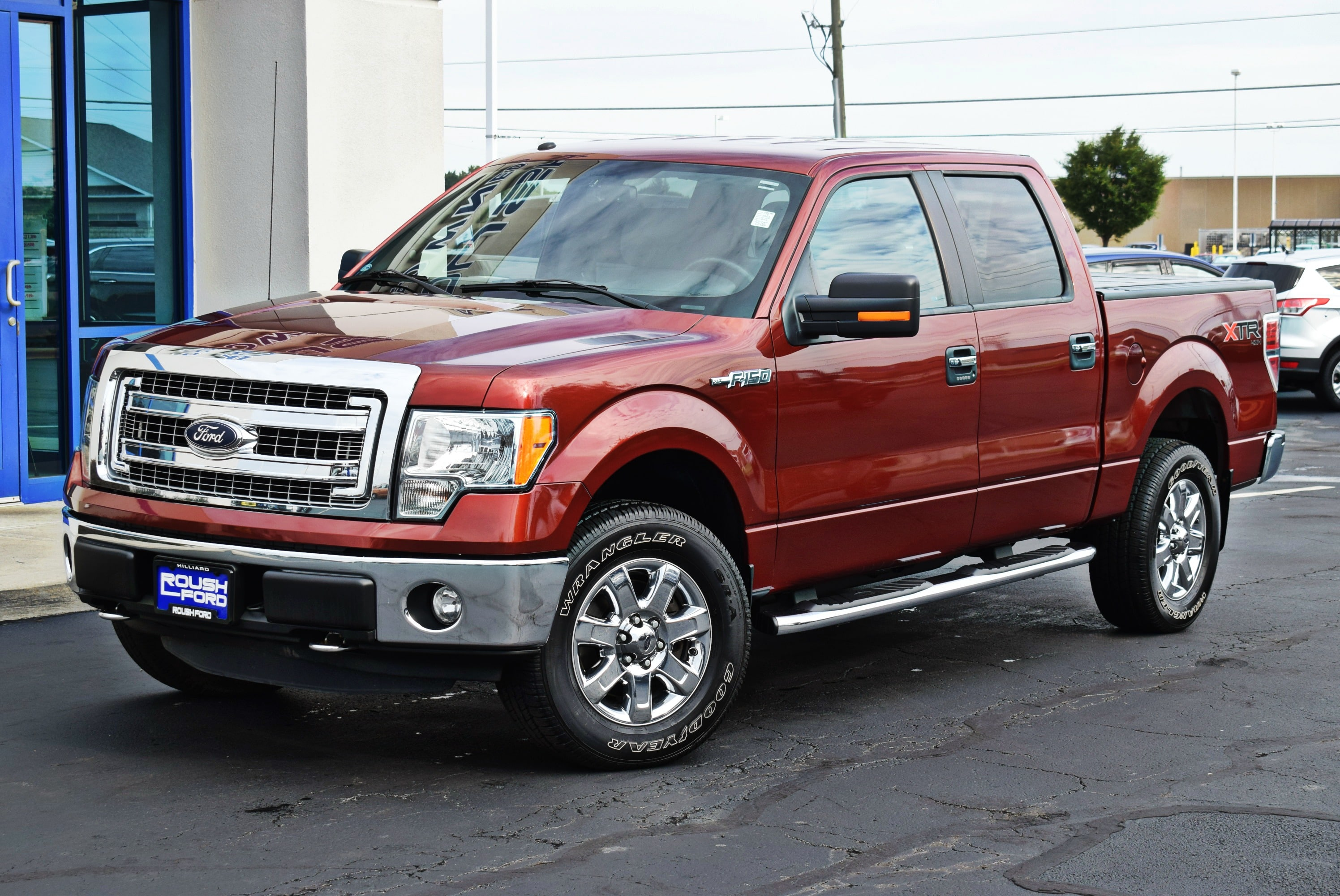 2014 F-150 SuperCrew Cab 4x4,  Pickup #TP2390 - photo 5