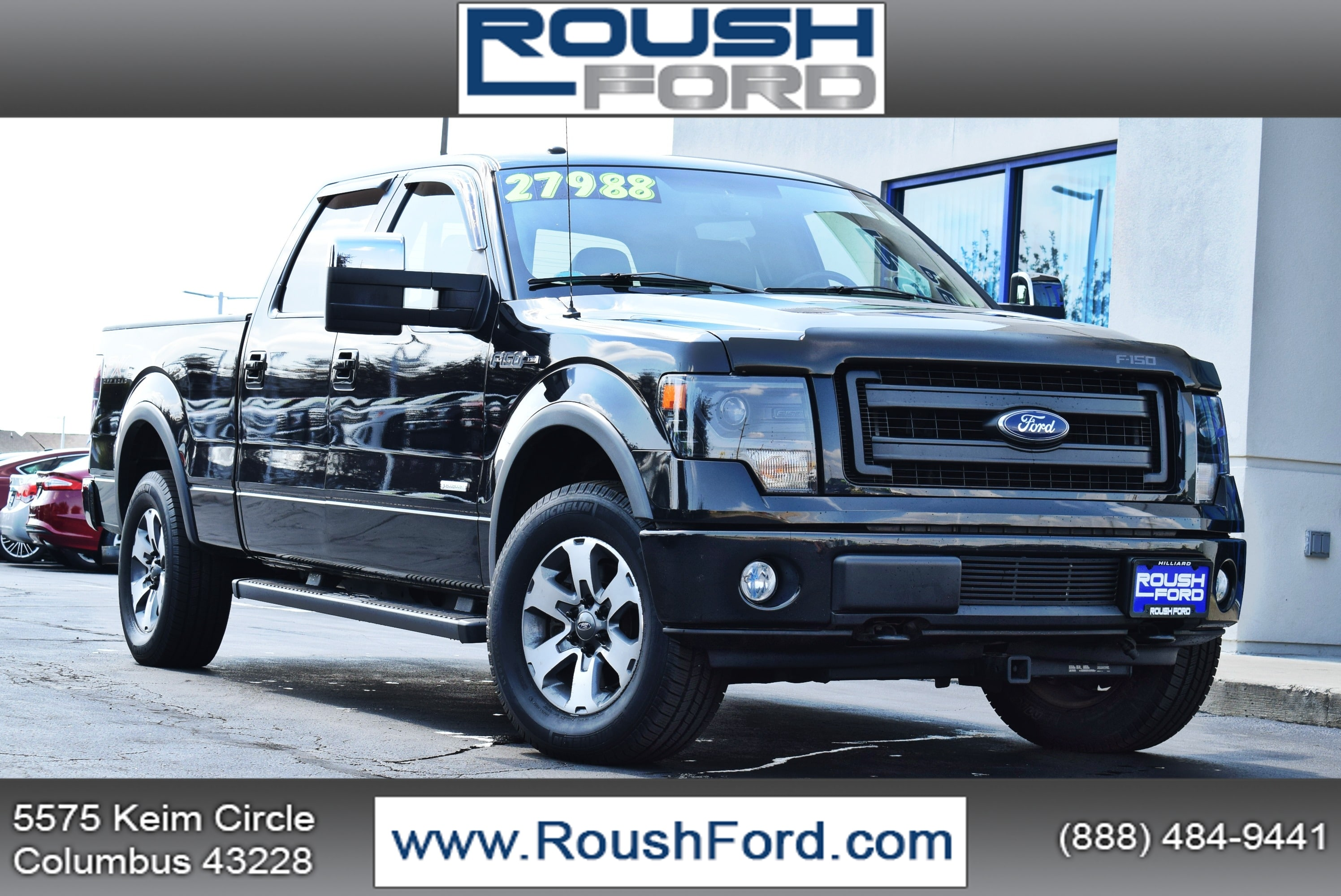 2013 F-150 SuperCrew Cab 4x4,  Pickup #TP2407 - photo 1