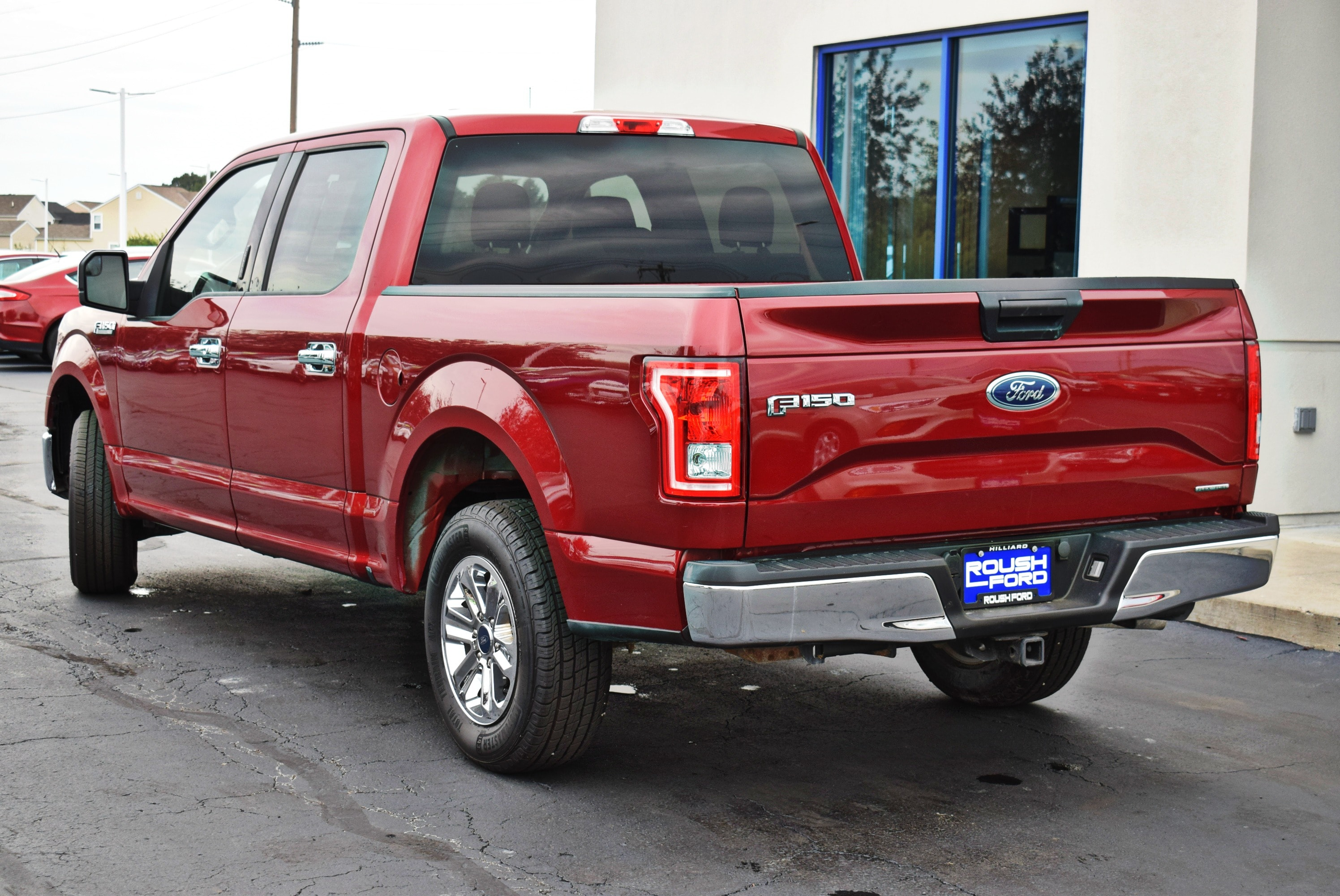 2015 F-150 SuperCrew Cab 4x2,  Pickup #TP2448 - photo 10