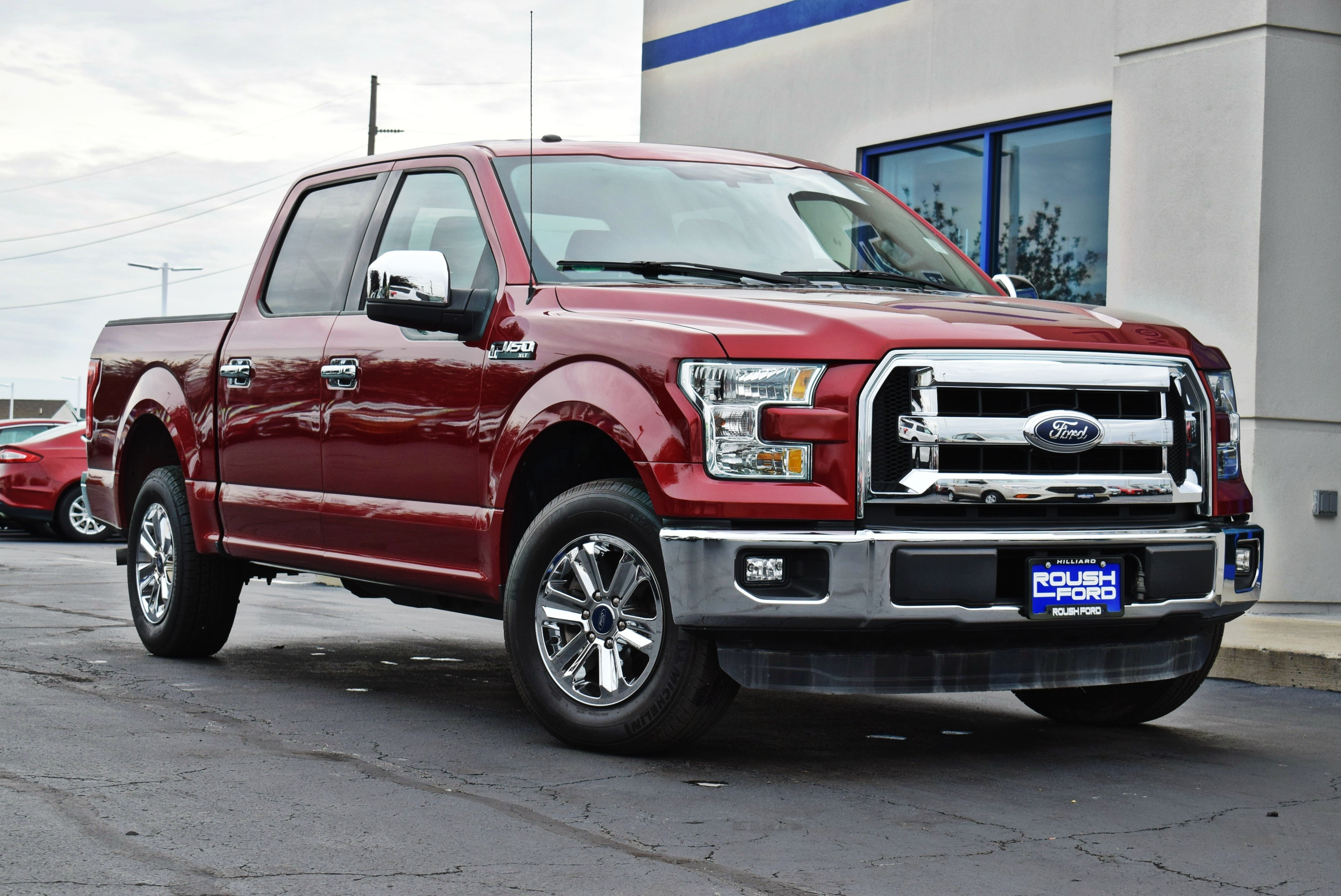 2015 F-150 SuperCrew Cab 4x2,  Pickup #TP2448 - photo 7