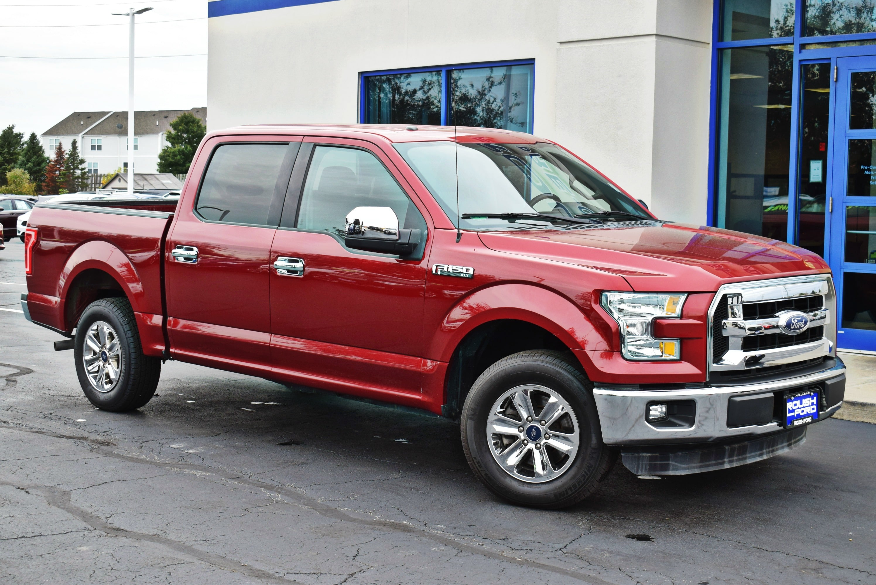2015 F-150 SuperCrew Cab 4x2,  Pickup #TP2448 - photo 9