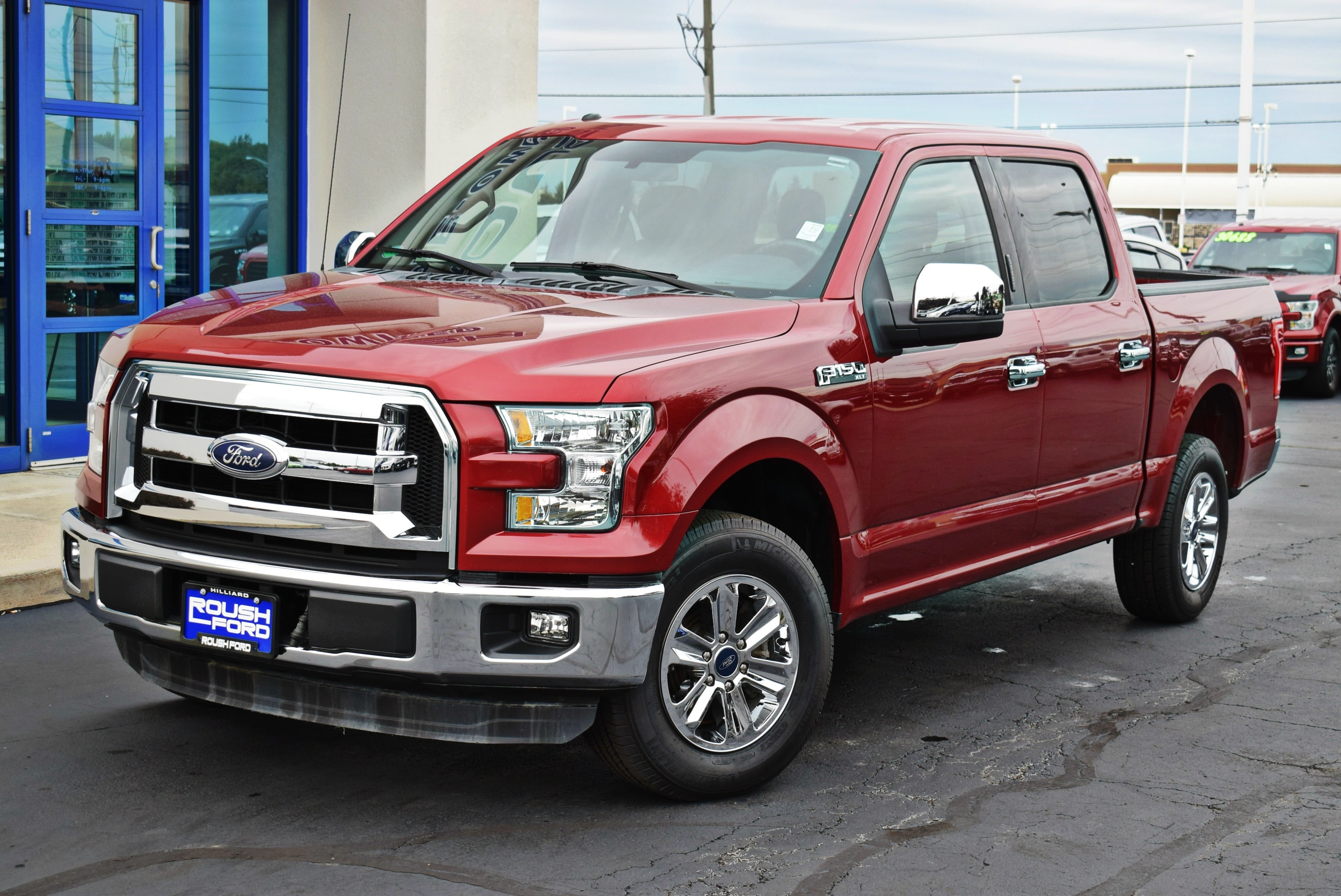 2015 F-150 SuperCrew Cab 4x2,  Pickup #TP2448 - photo 4