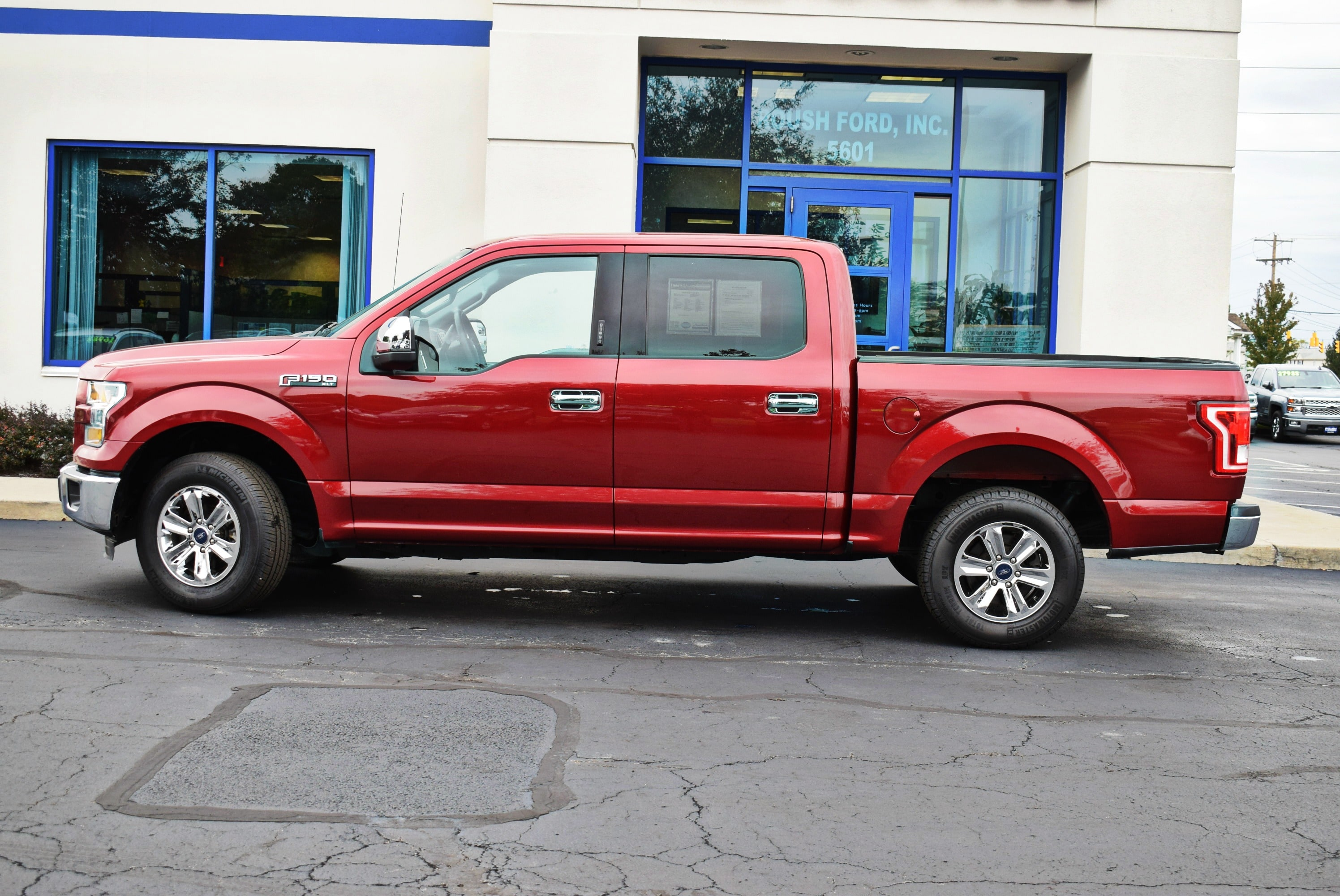 2015 F-150 SuperCrew Cab 4x2,  Pickup #TP2448 - photo 8