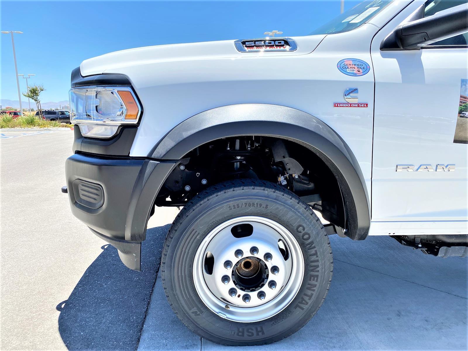 2020 Ram 5500 Regular Cab DRW 4x2, Supreme Iner-City Dry Freight #XCC53640 - photo 9