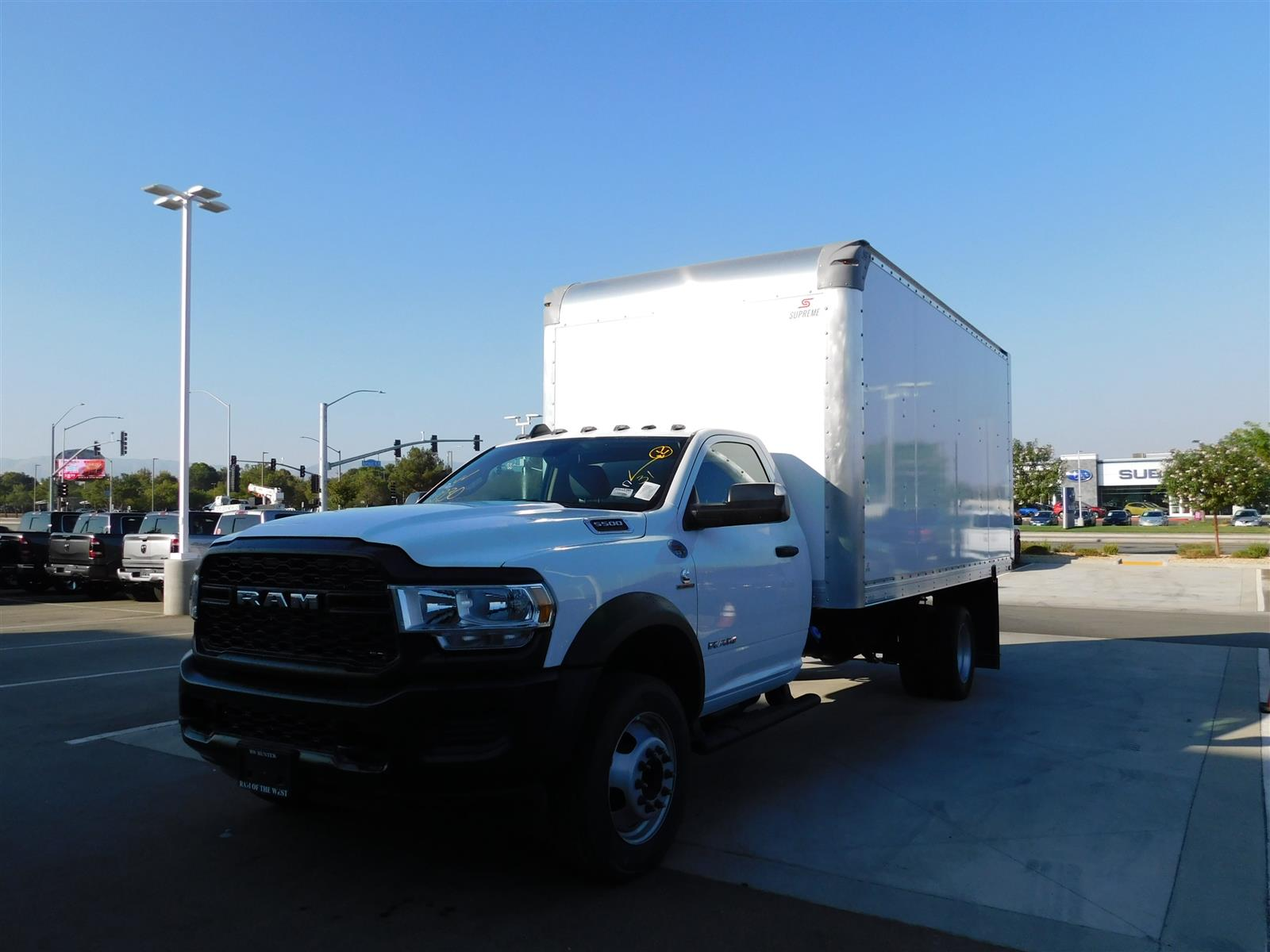 2020 Ram 5500 Regular Cab DRW 4x2, Dry Freight #XCC54466 - photo 1