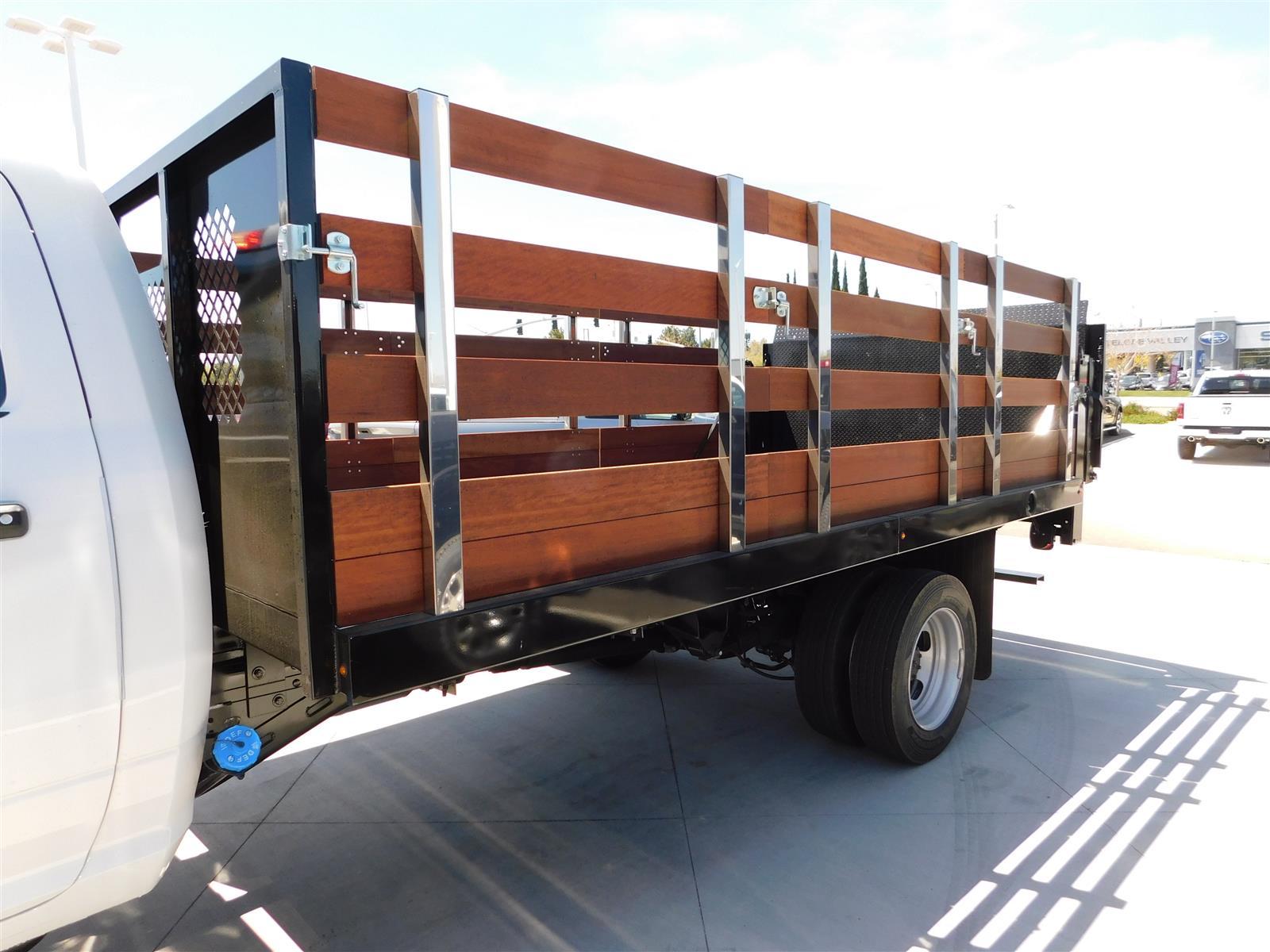 2020 Ram 5500 Regular Cab DRW 4x2, Harbor Stake Bed #XCC54531 - photo 1