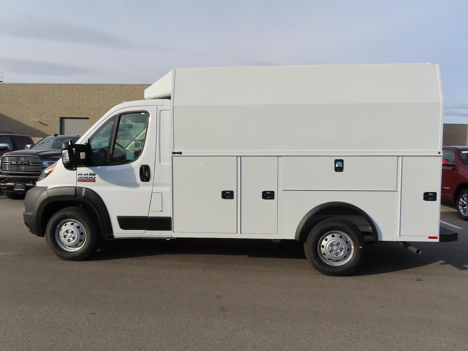 2020 Ram ProMaster 3500 FWD, Knapheide Service Utility Van #XPRO4974 - photo 1