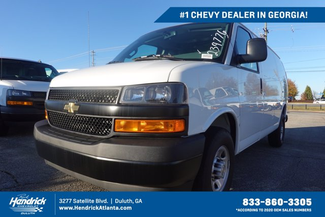 2020 Chevrolet Express 2500 4x2, Adrian Steel Upfitted Cargo Van #CL39776 - photo 1