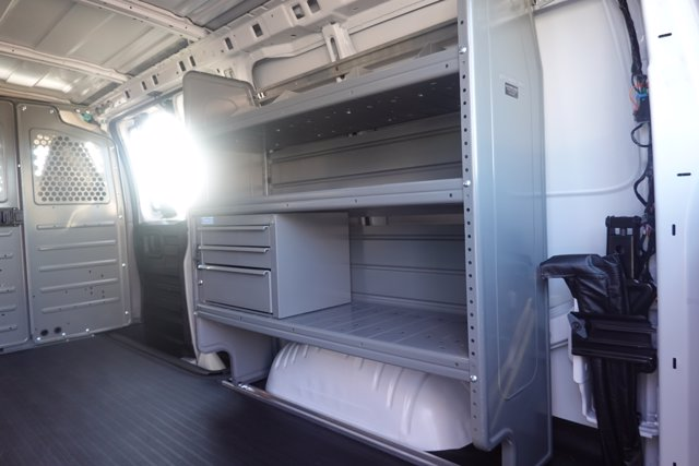 2020 Chevrolet Express 2500 4x2, Adrian Steel Commercial Shelving Upfitted Cargo Van #CL39776 - photo 11