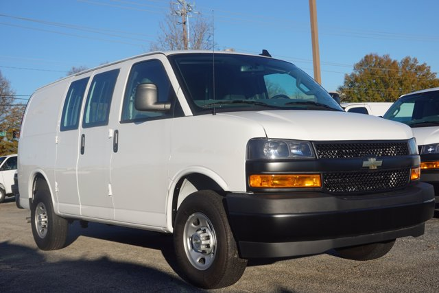 2020 Chevrolet Express 2500 4x2, Adrian Steel Commercial Shelving Upfitted Cargo Van #CL39776 - photo 5