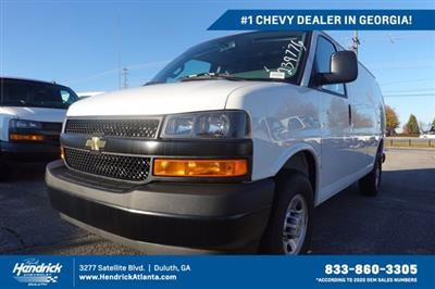 2020 Chevrolet Express 2500 4x2, Adrian Steel Commercial Shelving Upfitted Cargo Van #CL39776 - photo 1