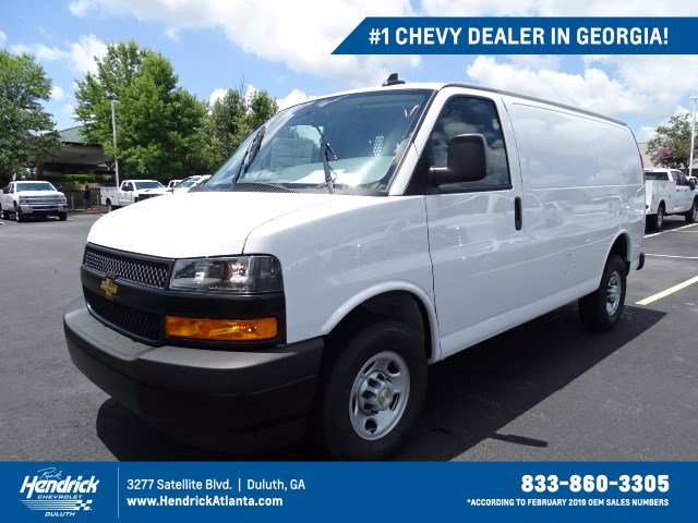 2020 Chevrolet Express 2500 RWD, Adrian Steel Upfitted Cargo Van #CL39896 - photo 1