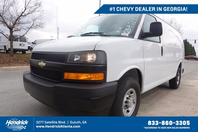 2020 Chevrolet Express 2500 4x2, Adrian Steel Upfitted Cargo Van #CL59607 - photo 1