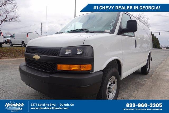 2020 Chevrolet Express 2500 4x2, Adrian Steel Upfitted Cargo Van #CL59615 - photo 1
