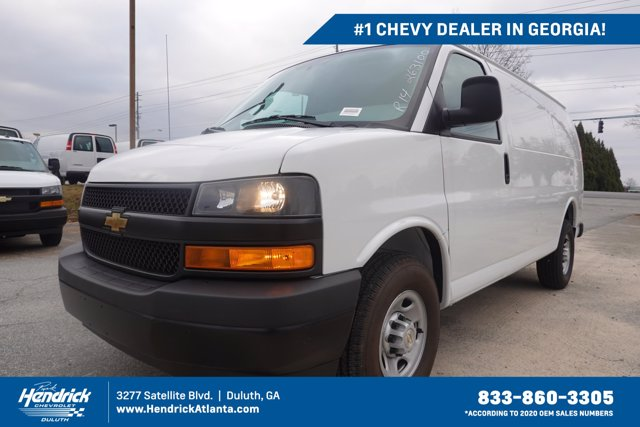 2020 Chevrolet Express 2500 4x2, Adrian Steel Upfitted Cargo Van #CL63100 - photo 1