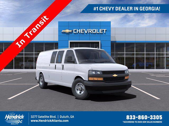2021 Chevrolet Express 2500 4x2, Sortimo Upfitted Cargo Van #CM43296 - photo 1