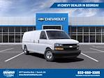 2021 Chevrolet Express 2500 4x2, Empty Cargo Van #FM45720 - photo 1