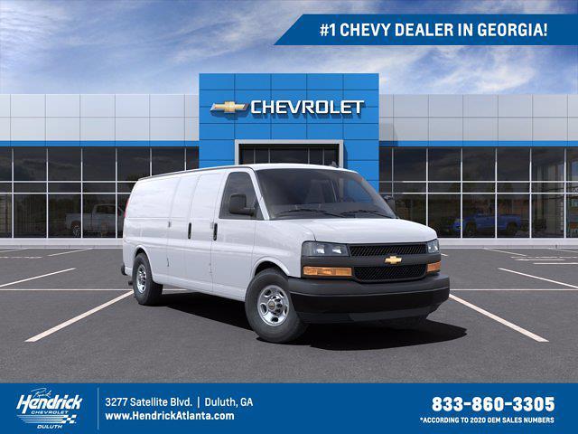 2021 Chevrolet Express 2500 4x2, Empty Cargo Van #FM46132 - photo 1