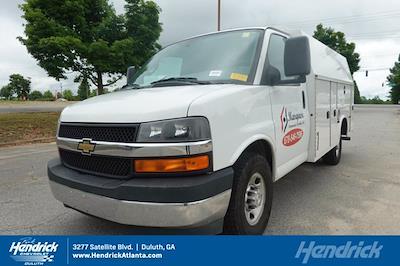 2017 Chevrolet Express 3500 4x2, Knapheide KUV Service Utility Van #FM98042A - photo 28