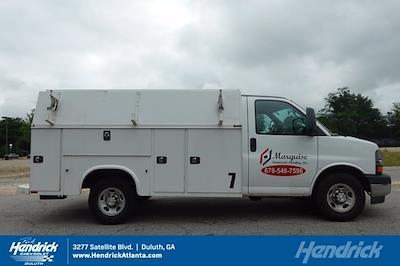 2017 Chevrolet Express 3500 4x2, Knapheide KUV Service Utility Van #FM98042A - photo 31