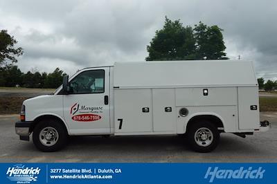 2017 Chevrolet Express 3500 4x2, Knapheide KUV Service Utility Van #FM98042A - photo 35