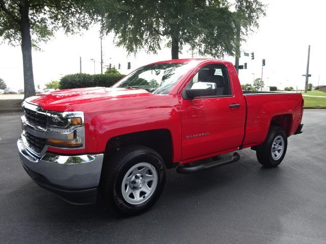 2018 Silverado 1500 Regular Cab 4x2,  Pickup #JZ100621 - photo 4