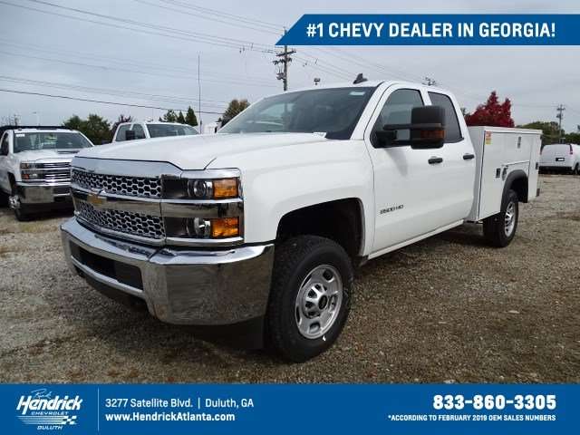 2019 Silverado 2500 Double Cab 4x2, Monroe Service Body #M1210509 - photo 1