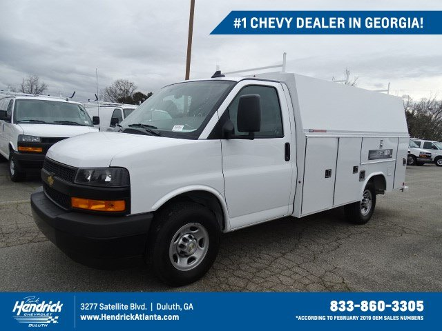 2020 Chevrolet Express 3500 4x2, Reading RVSL Service Utility Van #M1211828 - photo 1