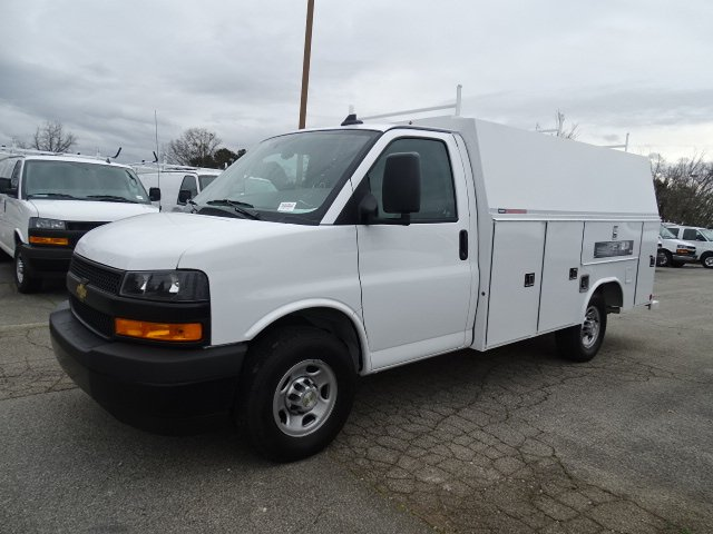 2020 Chevrolet Express 3500 4x2, Reading RVSL Service Utility Van #M1211828 - photo 3