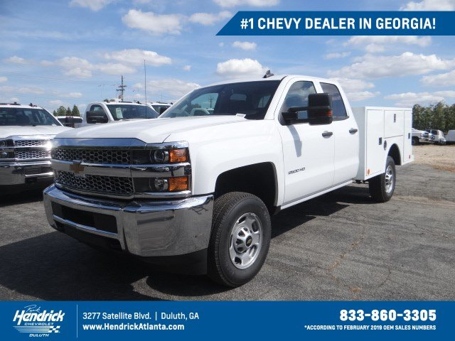 2019 Silverado 2500 Double Cab 4x2, Warner Service Body #M1218841 - photo 1