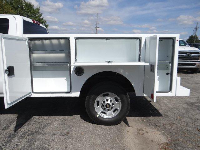 2019 Silverado 2500 Double Cab 4x2, Warner Select Pro Service Body #M1218841 - photo 8