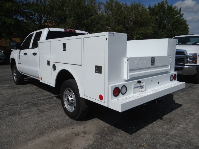 2019 Silverado 2500 Double Cab 4x2, Warner Service Body #M1222695 - photo 1