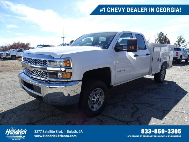2019 Silverado 2500 Double Cab 4x2, Reading Service Body #M1223106 - photo 1