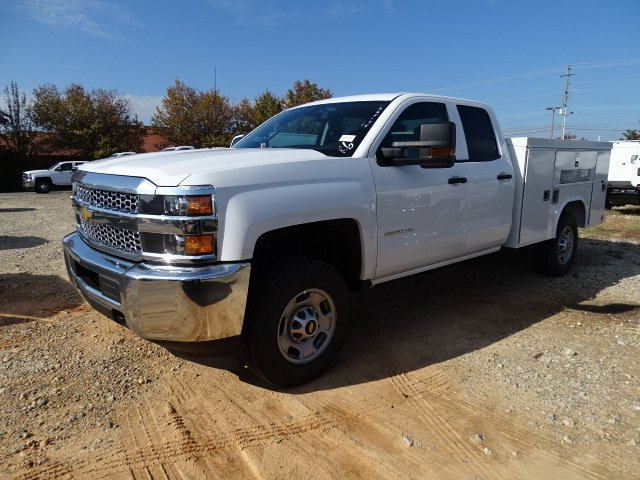2019 Silverado 2500 Double Cab 4x2, Reading SL Service Body #M1225335 - photo 3