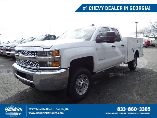 2019 Silverado 2500 Double Cab 4x2, Warner Service Body #M1226866 - photo 1