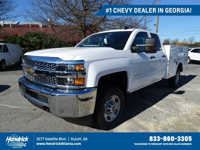 2019 Silverado 2500 Double Cab 4x4, Warner Service Body #M1230971 - photo 1