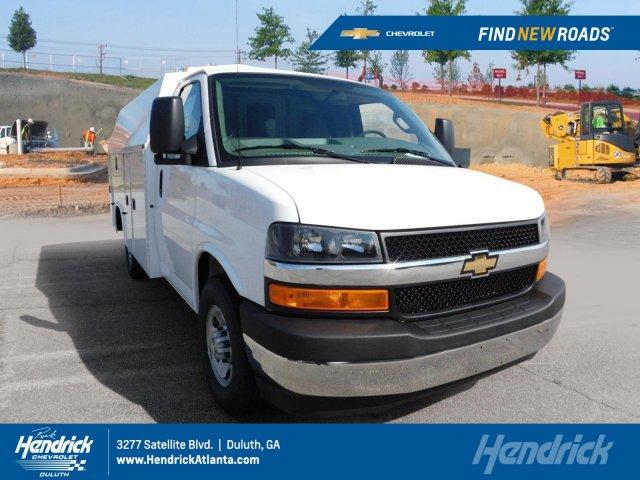 2017 Chevrolet Express 3500 4x2, Service Utility Van #FM97933A - photo 1