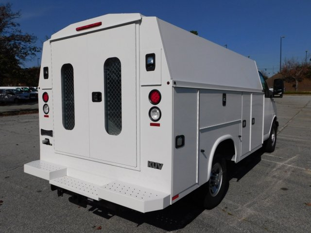 2017 Chevrolet Express 3500 4x2, Knapheide Service Utility Van #FM98036A - photo 1
